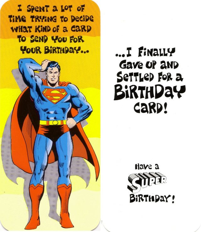 Birthday Ecards For Men Superheroes
