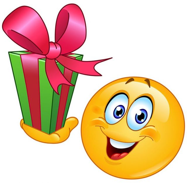 Birthday Emoji and presents