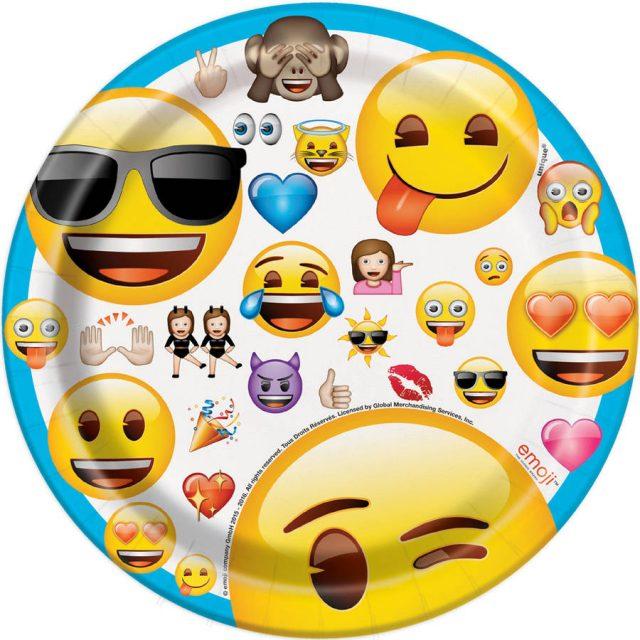 Birthday Emoji balloons