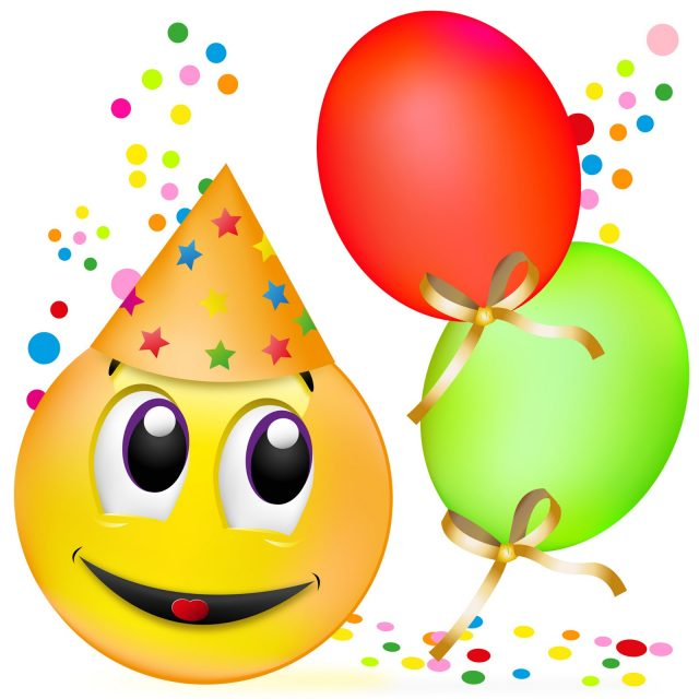 Birthday Emoji – celebrating birthday