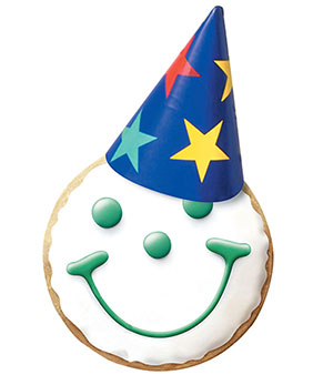 Birthday Emoji – cookies