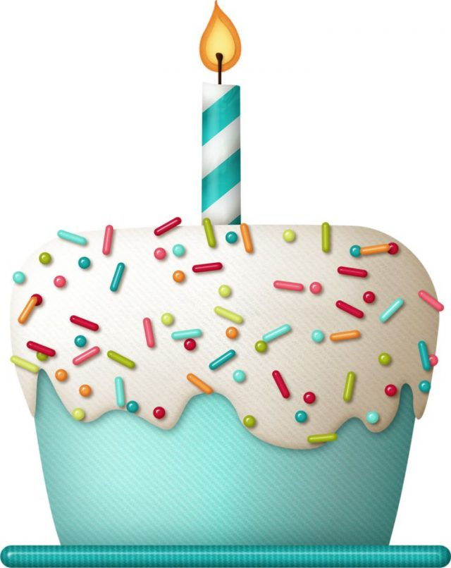 Birthday Emoji – cupcake