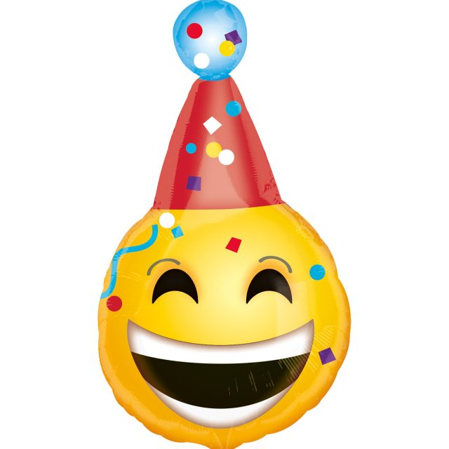 Birthday Emoji – laughing