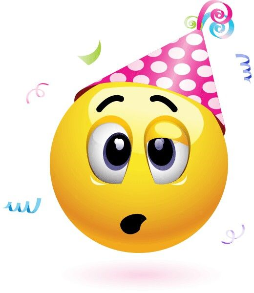 Birthday Emoji – lovely face