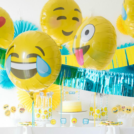 Birthday Emoji party