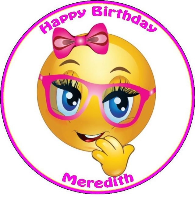 Birthday Emoji – sweet girl