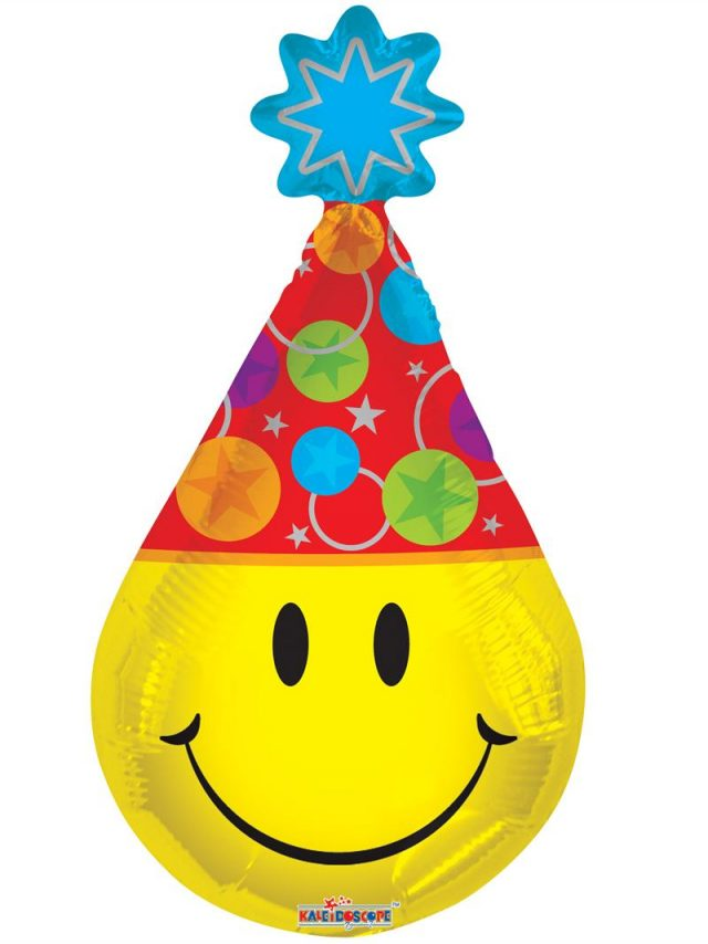 Birthday Emoji with party hat!