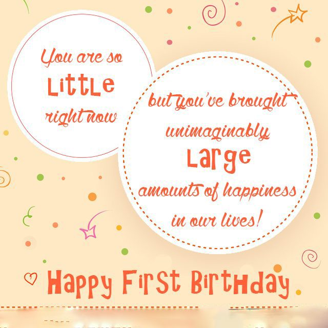 Birthday Niece Wishes – first birthday