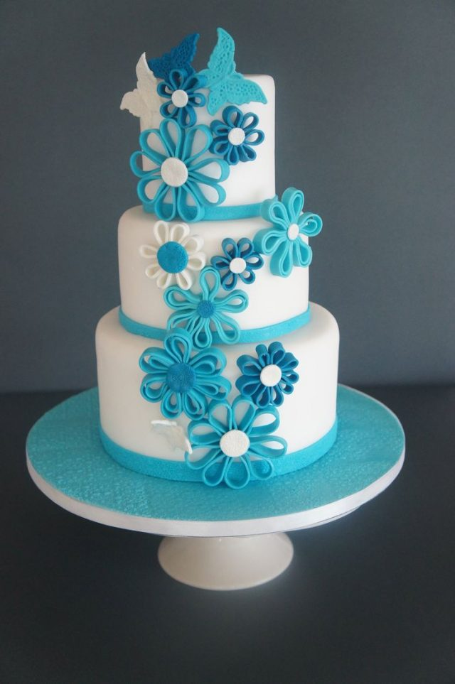 Men Who Like Blue Will Be Interested In This Lovely Peaceful Cake Birthday Can Also Release All Your Mens Stress On His