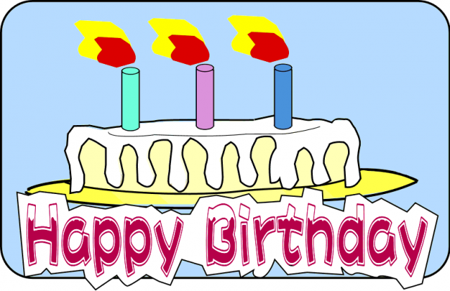 Brilliant Birthday Cake Clipart