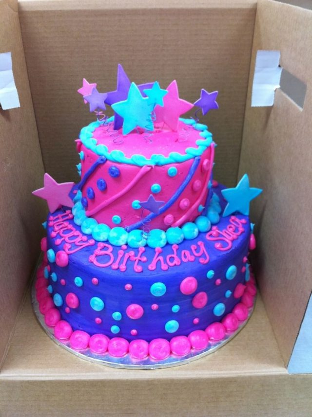 Brilliant happy birthday cake for girls