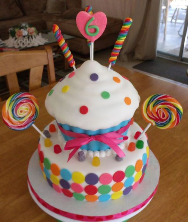 Candy Birthday Cakes for Girls and Women