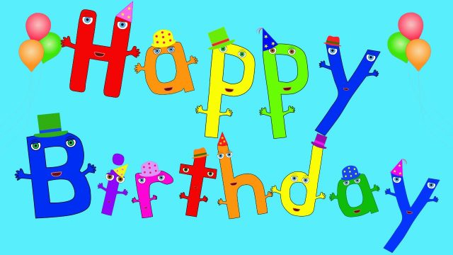 Colorful Happy Birthday Boy Images