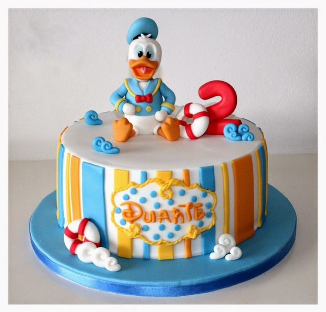 Donald birthday cake ideas
