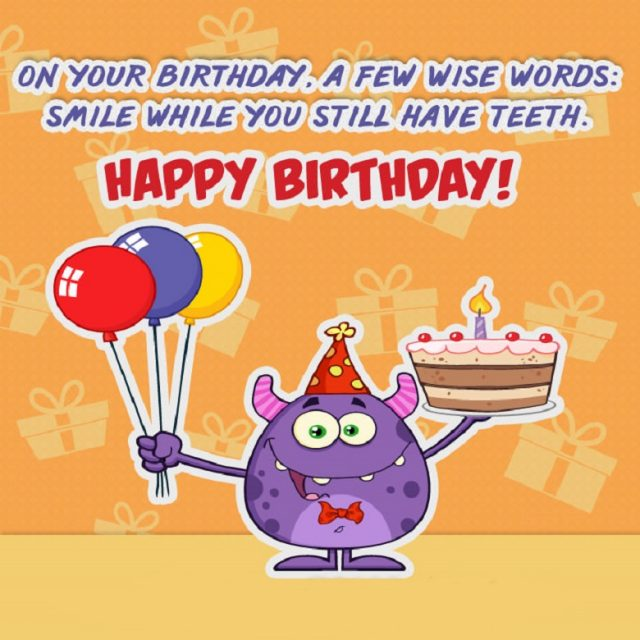 Fabulous Funny Birthday Messages