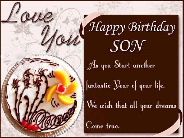 Fantastic Birthday Wishes for Son with Images
