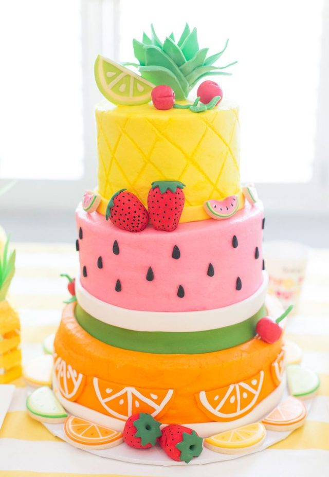 Fruity Birthday Cakes for Girls and Women