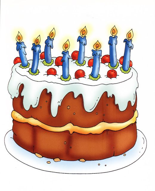 Great Birthday Cake Clipart