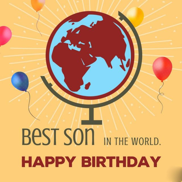 Great Birthday Wishes for Son with Images