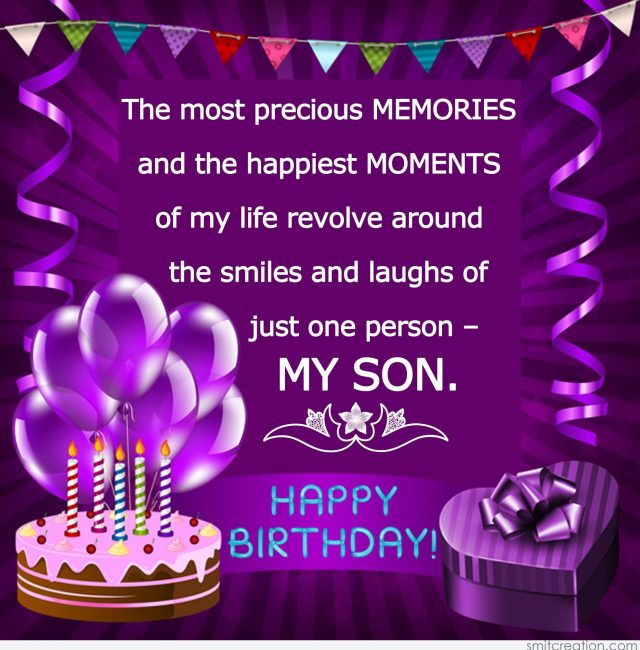 Awesome 58 Unique Birthday Wishes For Son With Images 9 Happy Birthday Personalised Birthday Cards Veneteletsinfo
