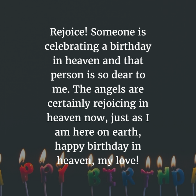 Happy Birthday in Heaven 21