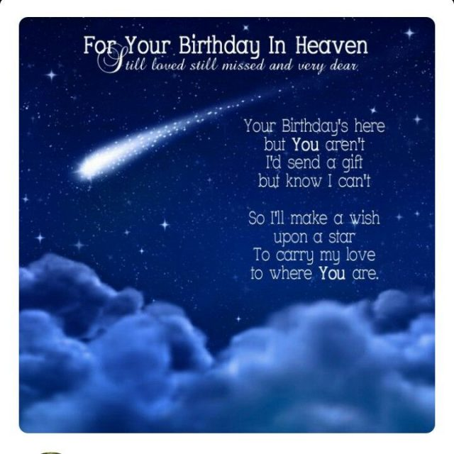 Happy Birthday in Heaven 6
