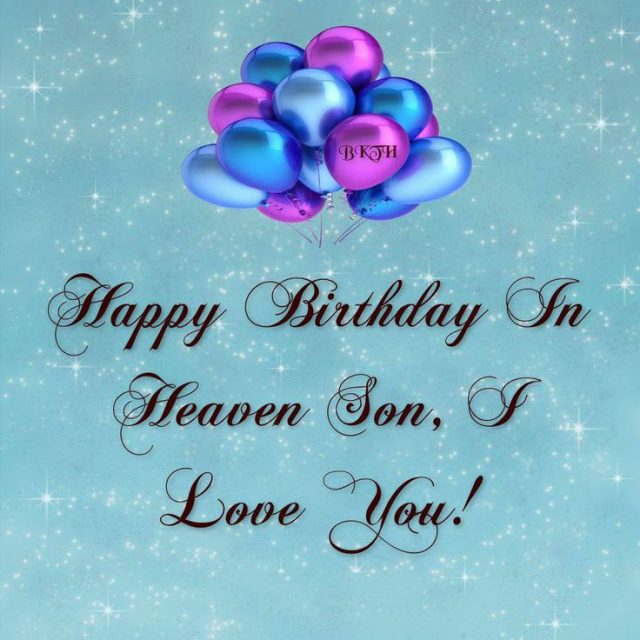 Happy Birthday in Heaven 7