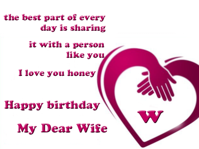 Honey Birthday Wishes for Wife with Images