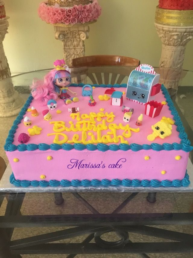 Huge Shopkins Birthday Cake Ideas