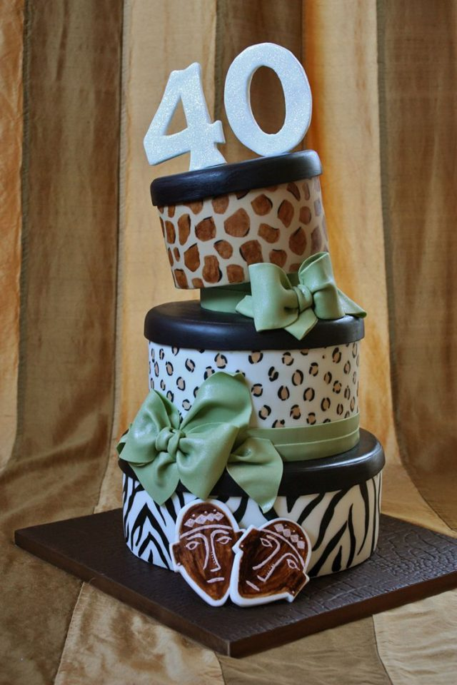 Huge Traditional Birthday Cake