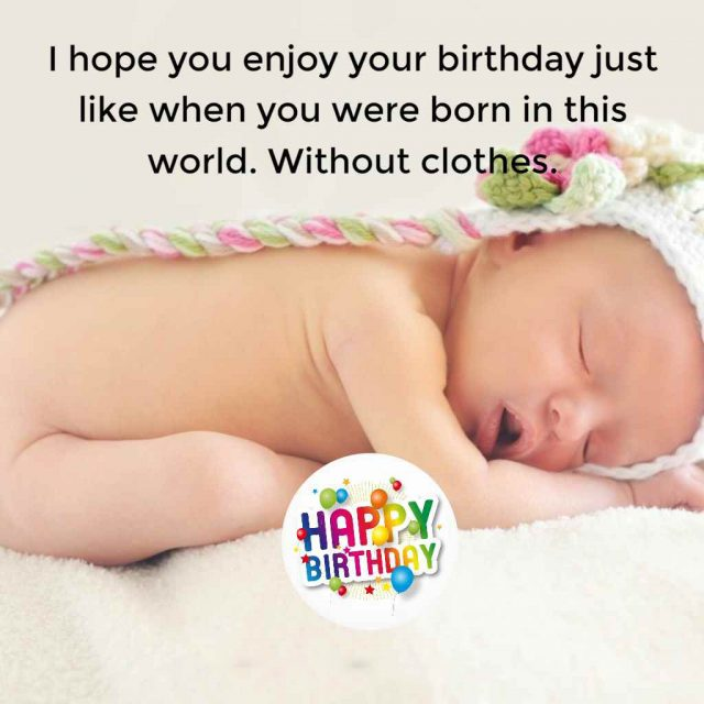 Little Funny Birthday Messages