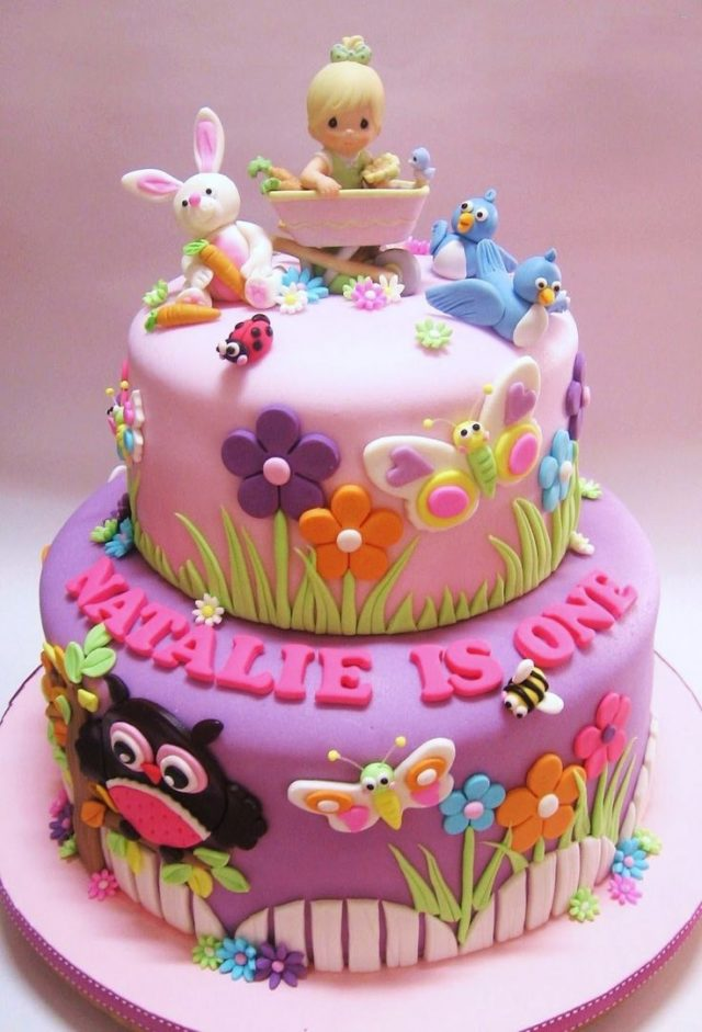 2 Year Old Baby Girl Birthday Cakes Toddler Birthday Cakes On Pi