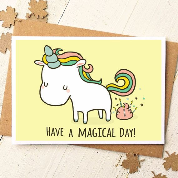 Magical Funny Birthday Cards
