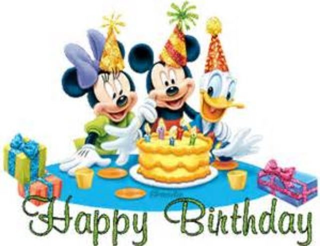 Mickey Happy Birthday Boy Images