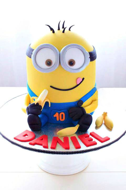 Minons birthday cake ideas