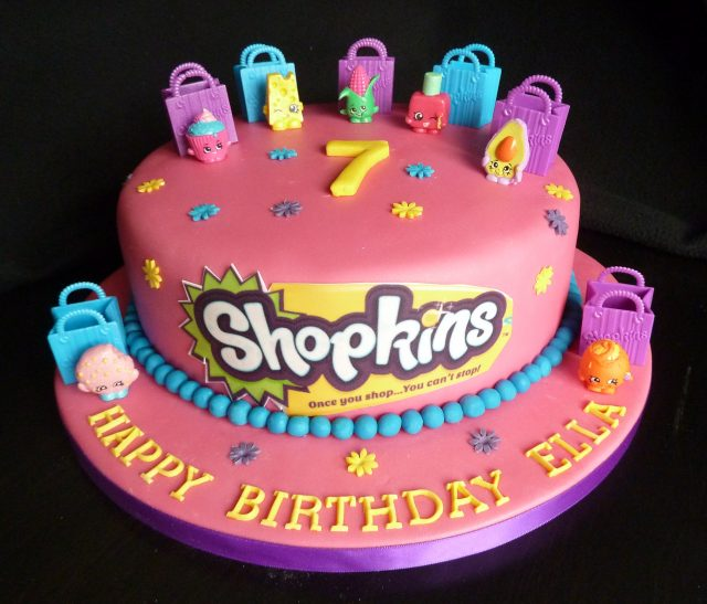 Red Shopkins Birthday Cake Ideas