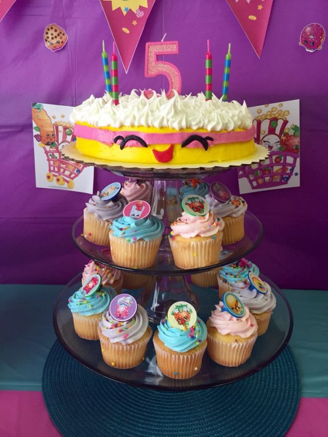 Shopkins Birthday CupCakes Ideas
