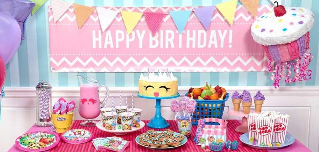 Shopkins kids birthday party ideas