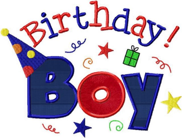 Simple Happy Birthday Boy Images