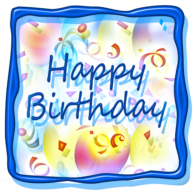 Square Birthday Cake Clipart