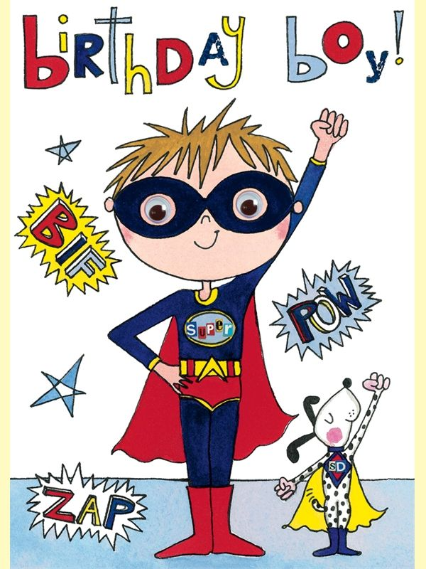 Superhero Happy Birthday Boy Images