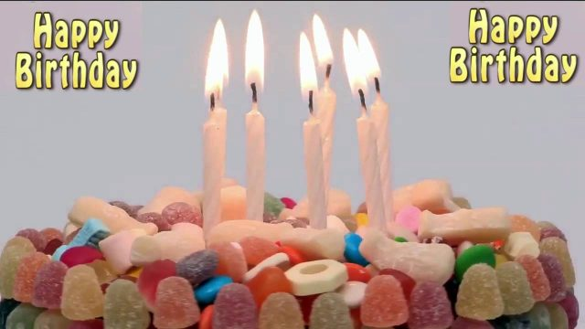 Sweet Happy Birthday Candles