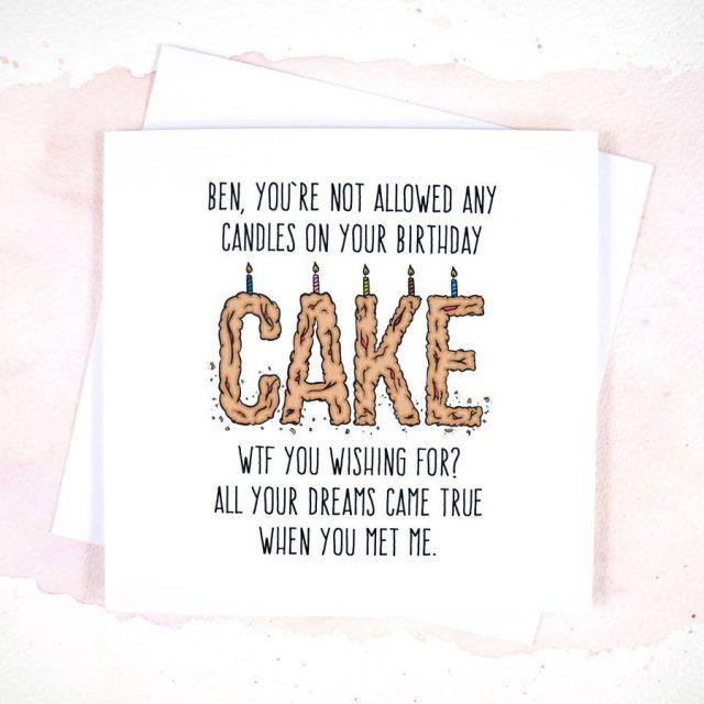 Tender Funny Birthday Cards