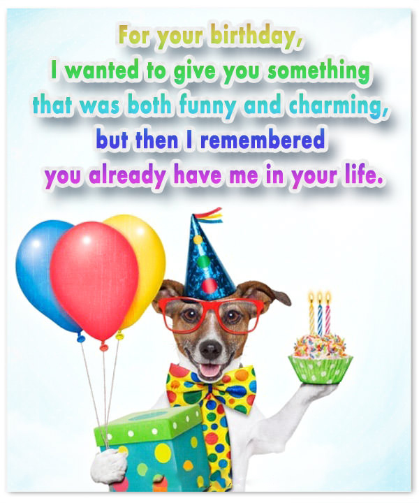 Terrific Funny Birthday Messages