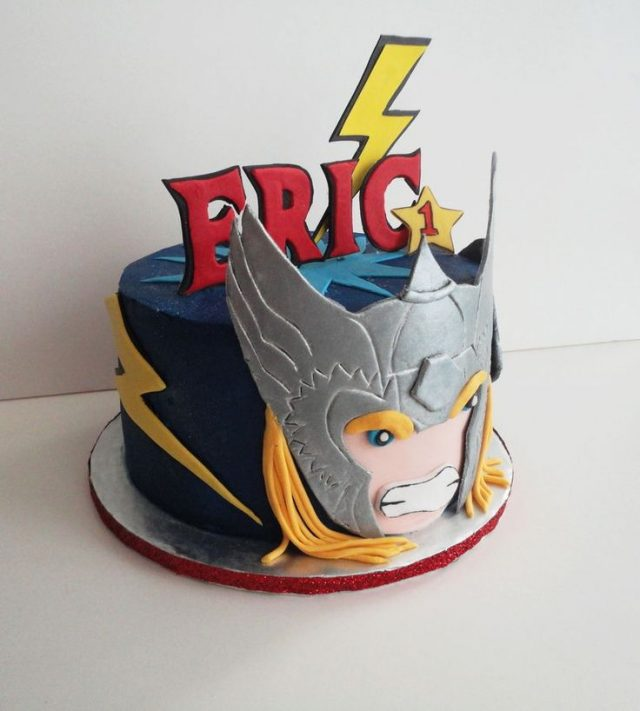 Thor birthday cake ideas