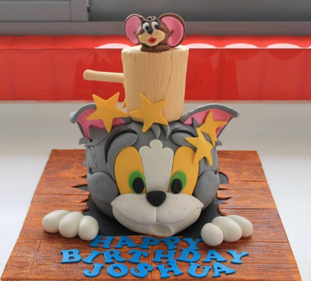 Tom and Jerry birthday cake ideas