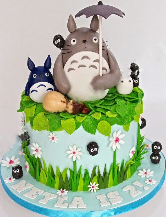 60 Happy Birthday Cake with Images 9 Happy Birthday – Totoro Birthday Card