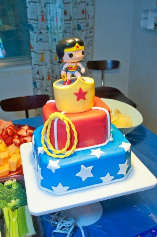 Wonder Woman birthday cake ideas