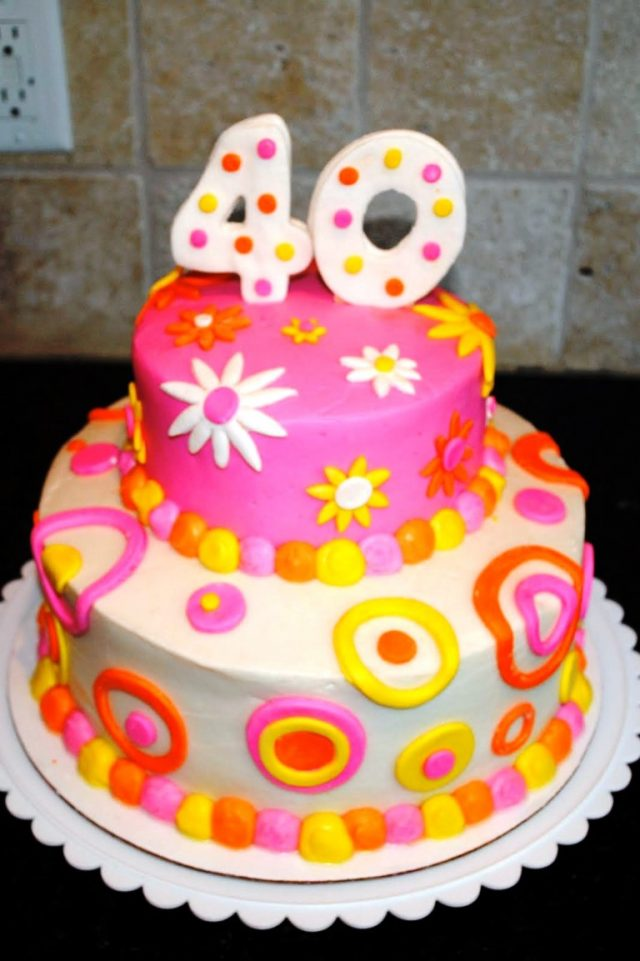 colorful Birthday Cakes for Girls and Women