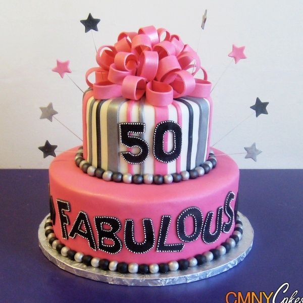 fabulous Birthday Cakes for Girls and Women